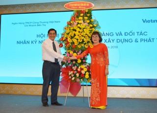Vietinbank Chi nhánh Bến Tre hội nghị tri ân đối tác và khách hàng