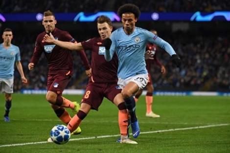 Sane lập cú đúp, Man City thắng nhẹ Hoffenheim
