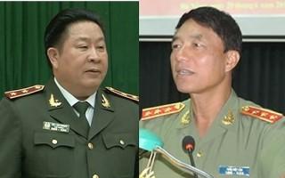 Khởi tố 2 cựu Thứ trưởng Bộ Công an Bùi Văn Thành và Trần Việt Tân