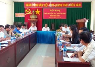 Chợ Lách, Thạnh Phú tổng kết nghị quyết năm 2018