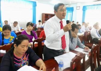 Kỳ họp thứ 9, HĐND huyện Giồng Trôm khóa XI