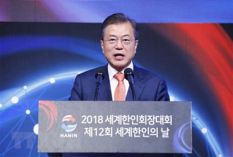 Tổng thống Hàn Quốc Moon Jae-in thay thế 16 thứ trưởng