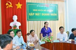 Mỏ Cày Nam định hướng mới trong chương trình khởi nghiệp