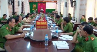 Hội nghị giao ban lực lượng Cảnh sát hình sự năm 2018