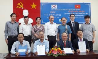 Ký kết hợp tác xây dựng làng hữu nghị Việt - Hàn