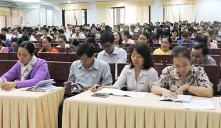 Đảng ủy Khối các Cơ quan tỉnh quán triệt Nghị quyết Trung ương 8