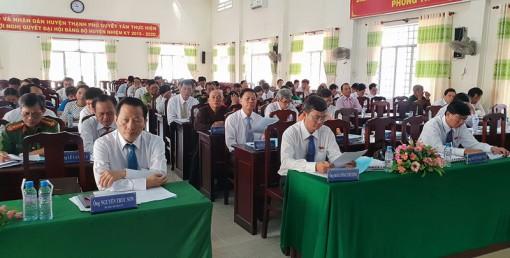 HĐND huyện Thạnh Phú tổ chức kỳ họp cuối năm 2018