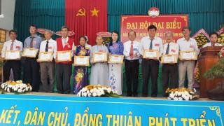 Tân Thành Bình tổ chức thành công Đại hội MTTQ nhiệm kỳ 2019 - 2024