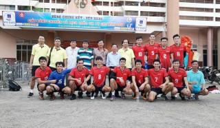 Bóng chuyền nam Bến Tre trụ hạng đội mạnh quốc gia năm 2018
