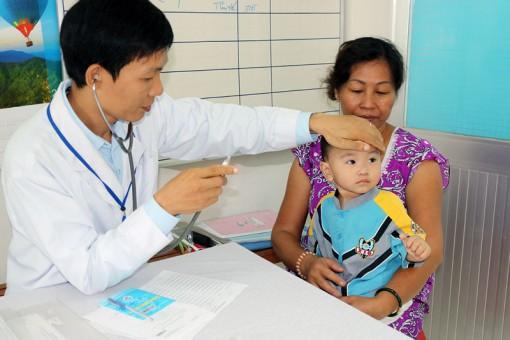 Trên 78 ngàn trẻ tiêm vắc-xin bổ sung sởi - rubella