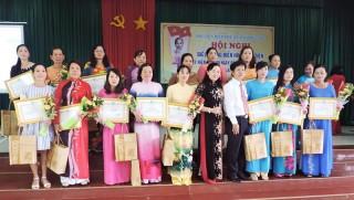Hội Liên hiệp Phụ nữ tỉnh chuyển mình qua nửa nhiệm kỳ