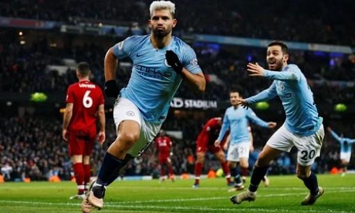 Man City khiến Liverpool nhận thất bại đầu tiên