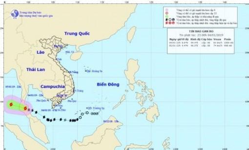 Bão số 1 không còn khả năng ảnh hưởng trực tiếp đến Việt Nam