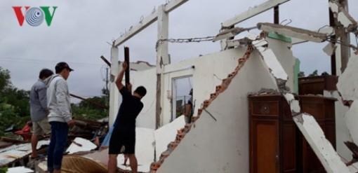 8 người mất tích và bị thương do ảnh hưởng của bão số 1