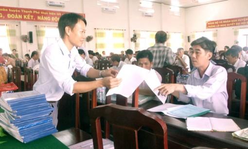 Kiểm tra công tác phổ cập giáo dục năm 2018 tại Thạnh Phú