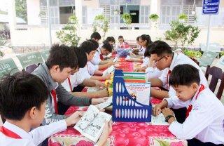Trường THCS Lê Hoàng Chiếu: Xây dựng thư viện tiên tiến và xuất sắc