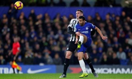Vòng 22 Ngoại hạng Anh: Chelsea thắng sát nút Newcastle
