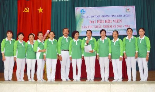 Câu lạc bộ Yoga - Dưỡng sinh Hàm Luông đại hội lần thứ nhất