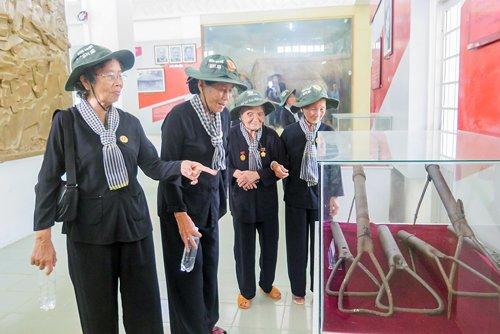 Di tích Đồng Khởi đón hơn 15 ngàn lượt khách tham quan/năm