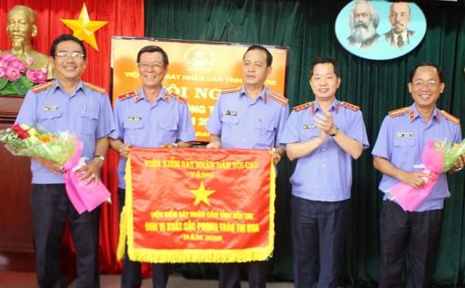 Ngành Kiểm sát nhân dân tỉnh thêm một năm hoàn thành xuất sắc nhiệm vụ