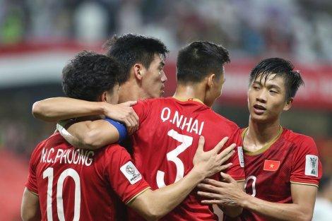 Việt Nam - Jordan sẽ mở màn vòng 1/8 Asian Cup