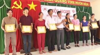 Hội Chữ thập đỏ huyện Chợ lách tổng kết năm 2018