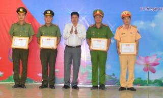 Công an huyện Ba Tri: Hoàn thành xuất sắc nhiệm vụ đảm bảo an ninh trật tự