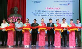 Khánh thành, bàn giao các công trình do VietinBank tài trợ tại tỉnh năm 2018