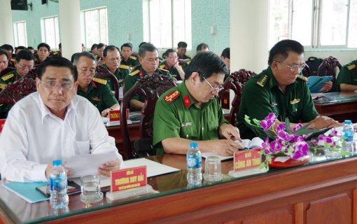 Bộ Chỉ huy Quân sự tỉnh phát động phong trào thi đua quyết thắng 2019