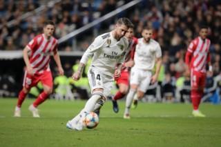 Sergio Ramos lập cú đúp, Real đại thắng ở Cúp Nhà Vua