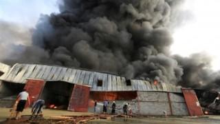 Hỏa hoạn tại Yemen, 51.000 tấn lúa mì bị hư hại hoàn toàn