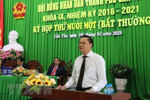 Ông Dương Tấn Hiển được bầu giữ chức Phó chủ tịch Cần Thơ