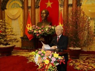 Tổng Bí thư, Chủ tịch nước chúc Tết lãnh đạo Đảng và Nhà nước