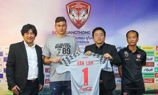 Văn Lâm là thủ môn đắt giá nhất trong lịch sử Muangthong United
