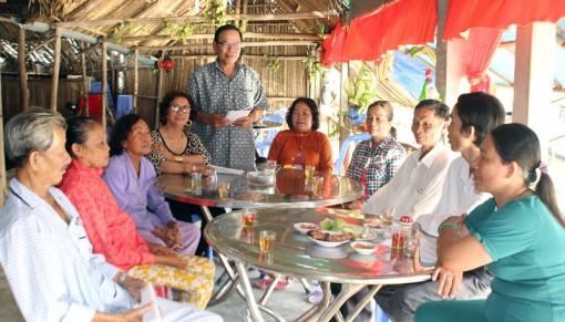 Tổ 10, ấp Thừa Trung, xã Thừa Đức tích cực xây dựng quê hương