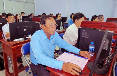 Tập huấn sử dụng hệ thống phần mềm quản lý đoàn viên công đoàn