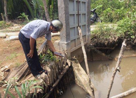 Xâm nhập mặn trên các sông chính có xu hướng tăng nhanh