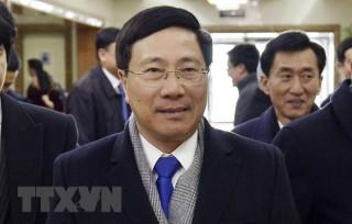 Phó thủ tướng, Bộ trưởng Ngoại giao Phạm Bình Minh đã đến Triều Tiên