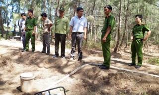 Kiểm tra công tác phòng cháy, chữa cháy rừng tại Ba Tri