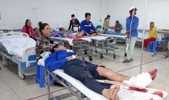 Tai nạn lao động, 9 công nhân nhập viện