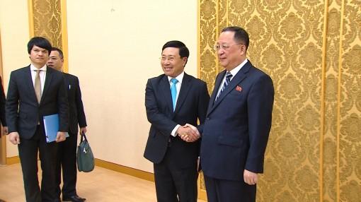 Hoạt động của Phó thủ tướng Phạm Bình Minh tại CHDCND Triều Tiên