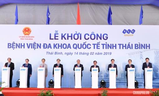 Thủ tướng dự khởi công bệnh viện lớn nhất tỉnh Thái Bình