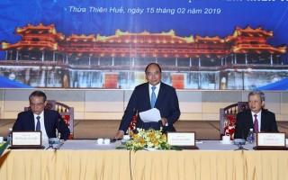 Thủ tướng: Đẩy mạnh liên kết vùng trong phát triển kinh tế miền Trung