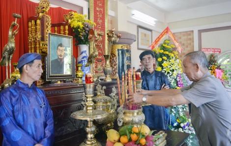 Giồng Trôm kỷ niệm 150 năm Ngày mất cụ Tán Kế - Lê Quang Quan