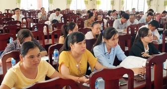 Thạnh Phú triển khai công tác bảo hiểm năm 2019