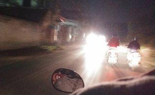 Sử dụng đèn chiếu sáng sai quy định - lợi ít, hại nhiều