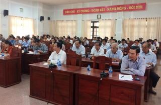 Triển khai Ðề án tổ chức Lễ hội Dừa lần thứ V