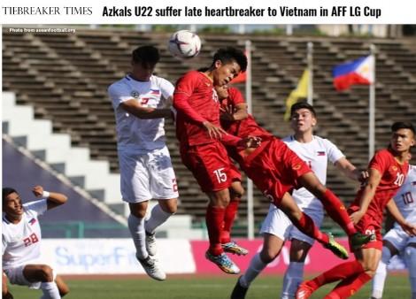 """Báo Philippines: """"Việt Nam đẳng cấp hơn chúng ta"""""""