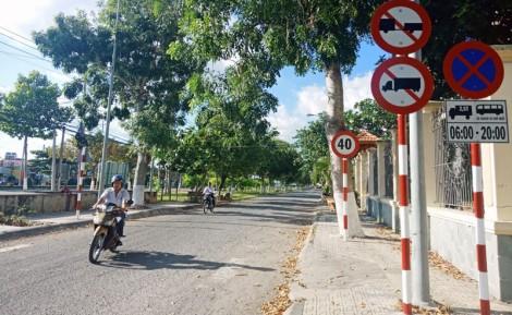 Về tổ chức giao thông trong khu dân cư