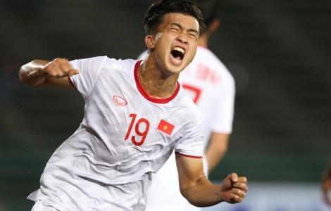 Thắng tuyển U22 Đông Timor 4-0, tuyển U22 Việt Nam giành vé vào bán kết